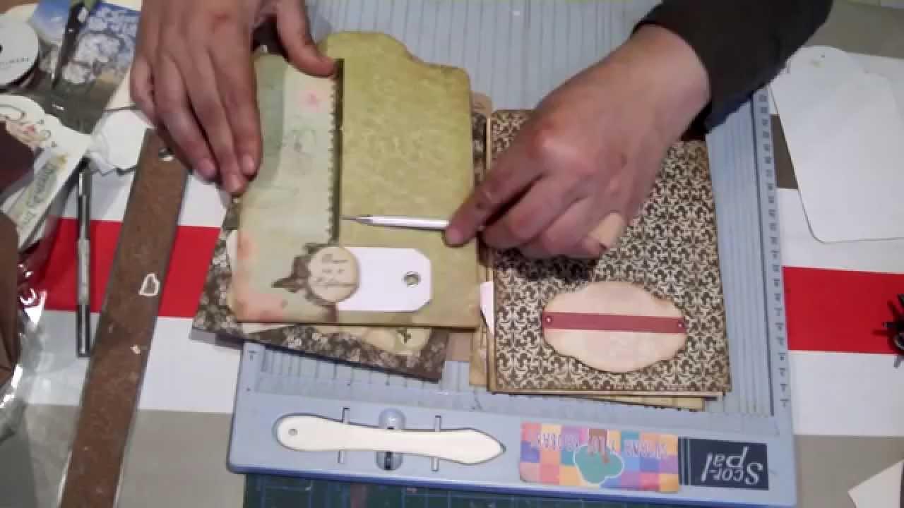 Scrapbook ideas on dailymotion - Scrapbook Ideas Tutorial Easy Scrapbook Para Principiantes 4 Parte I Tutorial Tipos De Etiquetas Y