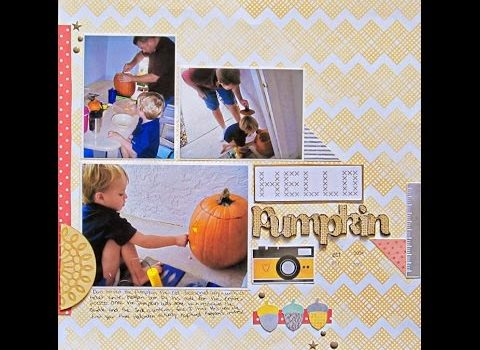 Scrapbooking Tips Big Title Small Space Scrapbooking With Us